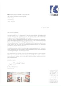 HCD Referenzschreiben MIG DE